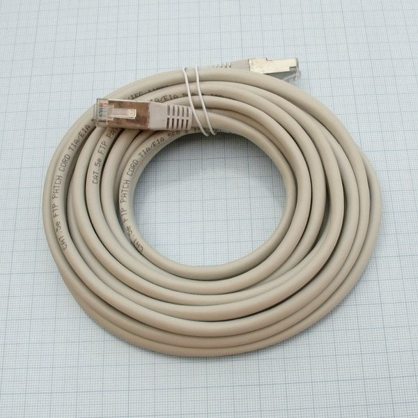 Patchcord FTP Cat 5e straight through