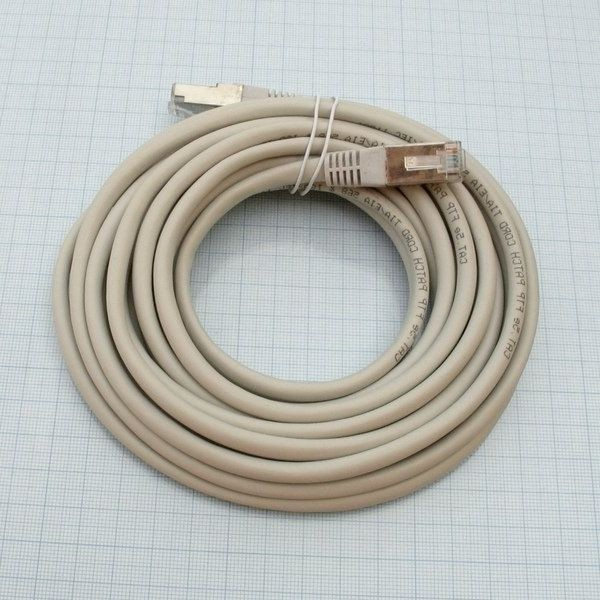 Patchcord FTP Cat 5e crossover
